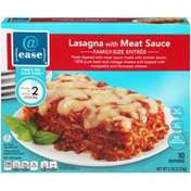 @ Ease With Meat Sauce Lasagna