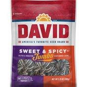 DAVID Seeds Jumbo Sweet And Spicy Sunflower Seeds