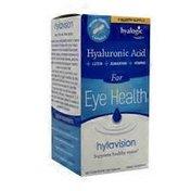 Hyalogic Hylavision For Eye Health Dietary Supplement