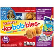 Lunchables Chicken Popper Kabobbles Lunch Combination with Capri-Sun Fruit Punch