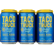 Dust Bowl Brewing Co. Beer, Amber Lager, Taco Truck