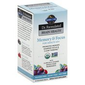 Garden of Life Memory & Focus, for Adults 40+, Tablets