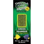 Omega One Super Veggie Green Seaweed Sheets For All Algae Grazers
