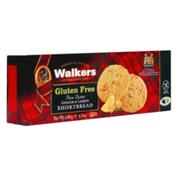 Walkers Shortbread  Gluten Free, Ginger & Lemon Shortbread