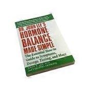 Nutri Books Dr. John Lee's Hormone Balance Made Simple Book