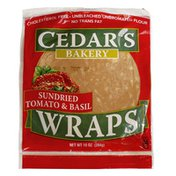 Cedar's Foods Sundried Tomato & Basil Wraps