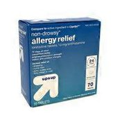 Up&Up Non Drowsy Allergy Relief Loratadine Tablets, 10 Mg/antihistamine