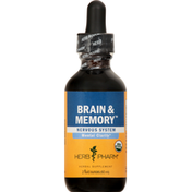 Herb Pharm Brain & Memory, Nervous System