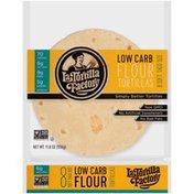 La Tortilla Factory Soft Taco Size Low Carb Flour Tortillas