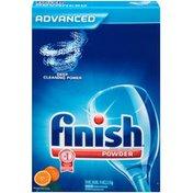 Finish Orange Fresh Scent Powder Dishwasher Detergent