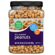 Food Club Dry Roasted Peanuts