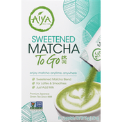 Aiya Matcha, Sweetened, To Go