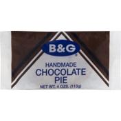 B&g Pie, Handmade, Chocolate