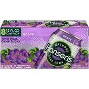 Hansen's Grape Natural Cane Soda