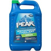 Peak Green Full Strength Concentrate Antifreeze & Coolant