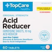 TopCare Acid Reducer, Original Strength, 10 mg, Tablets