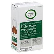 Signature Care Fluticasone Propionate Nasal Spray, Usp