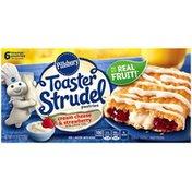 Pillsbury Toaster Strudel Cream Cheese & Strawberry Toaster Pastries