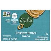 Simply Balanced Cashew Butter, Creamy