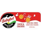 Mini Babybel White Cheddar Variety & Crackers