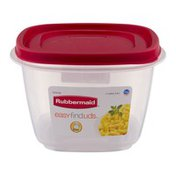 Rubbermaid Easy Find Lids Food Container, 7 Cups