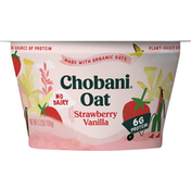 Chobani Oat Blend, Strawberry Vanilla