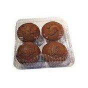 PICS Bran Muffins 4 Pack