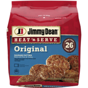 Jimmy Dean Heat 'N Serve Original Pork Sausage Patties