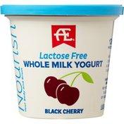 AE Dairy Nourish Black Cherry Lactose Free Whole Milk Yogurt