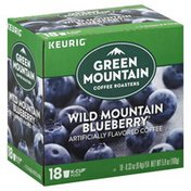 Green Mountain Coffee, Wild Mountain Blueberry, K-Cups Pods