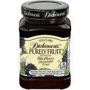 Dickinson's Purely Fruit Blackberry Spreadable Fruit Seedless