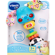 VTech Rattle & Sing Puppy, Baby, 3+ Months