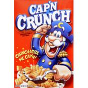 Cap'N Crunch Quaker  Cereal