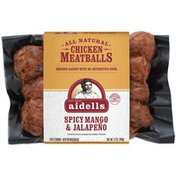 Aidells Chicken Meatballs Spicy Mango & Jalapeno