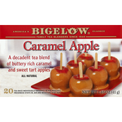 Bigelow Black Tea, Caramel Apple, Bags