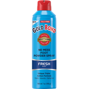 Gold Bond Foot Powder Spray, No Mess, Fresh Scent