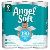 Angel Soft Big Bathroom Tissue Rolls