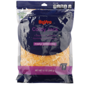 Hy-Vee Finely Shredded Cheese, Colby Jack