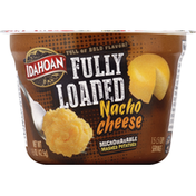 Idahoan Mashed Potatoes, Microwavable, Nacho Cheese