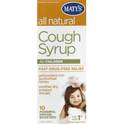 Maty's Cough Syrup, for Children, All Natural