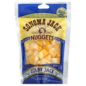 Sonoma Jack Cheese Nuggets, Colby Jack, Snack Pack