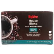 Hy-Vee Medium Roast House Blend 100% Arabica Coffee Single Serve Cups