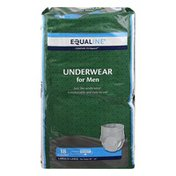 Equaline Underwear, for Men, Moderate, Maximum Absorbency, Large/X-Large