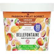 Bellefontaine Ice Cream, Mango & Passion Fruit Sorbet