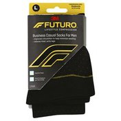 Futuro Socks, Business Casual, for Men, Large