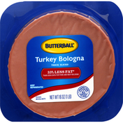 Butterball Turkey Bologna, Thick Sliced
