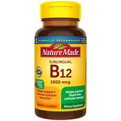 Nature Made Sublingual Vitamin B12 1000 mcg Micro-Lozenges