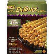 Delimex Pork Taquitos