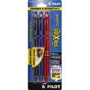 Pilot Pen, Clicker, Black Gel Ink, Fine 0.7mm