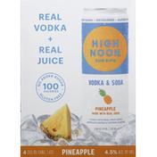 High Noon Vodka & Soda, Pineapple